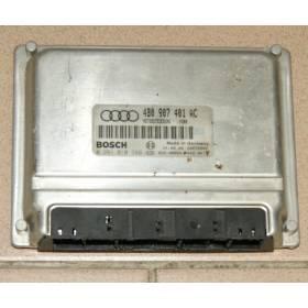 Engine control / unit ecu motor Audi A6 2L5 V6 TDI 150 4B0907401K 4B0907401P 4B0907401AC 4B0997401BX Bosch 0281010399