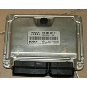 Calculateur moteur Audi A4 B6 2L5 V6 TDI 180 cv ref 8E0907401B / ref Bosch 0281010446