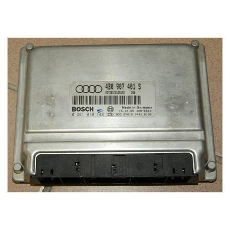 Calculateur moteur 4B0 907 401 S