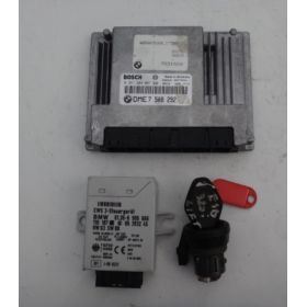 Engine control / unit ecu motor BMW E46 318 N42 ref 7508292
