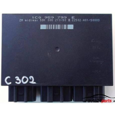 Boitier confort / Commande centralisée pour système confort ref 1C0959799E