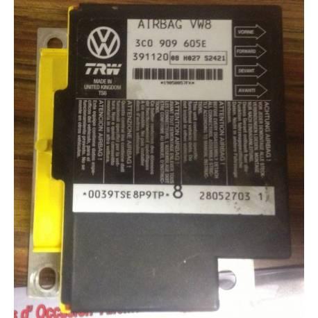 Calculateur d'airbag ref 3C0909605E / 3C0909605H / 3C0909605L