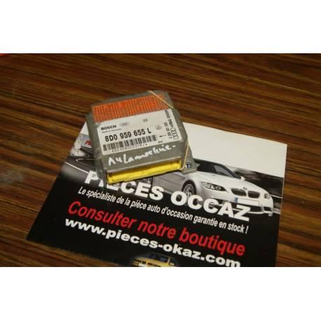 Calculateur d'airbag Audi ref 8D0959655L 8D0959655C Bosch 0285001305 0285001176
