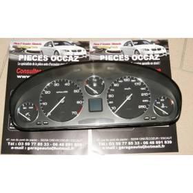 Compteur / combiné porte-instruments ref 110.008/888/001 pour Peugeot 607