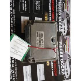 Calculateur moteur Audi A3 8L 1L8 125 cv ref 06A906018CN / 06A906018HX / ref Bosch 0261206078