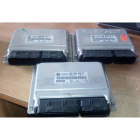 Calculateur moteur pour Audi / Skoda / VW 1L8 Turbo ref 4B0906018CG 4B0906018DC 4B0997018NX / Ref Bosch 0261207215 0261207215