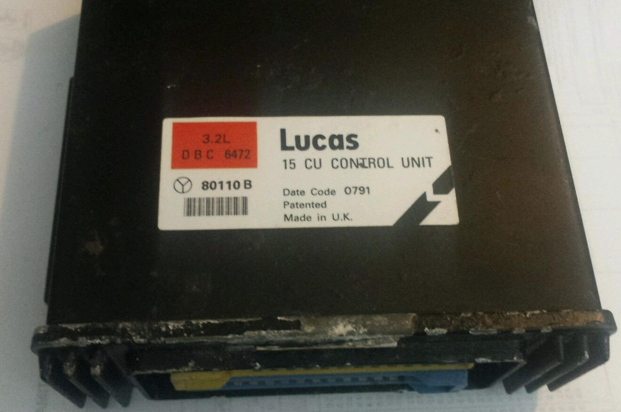 Engine control unit ecu jaguar xj6 3 2 dbc 6472 80110b, sale auto spare  part on pieces-okaz com