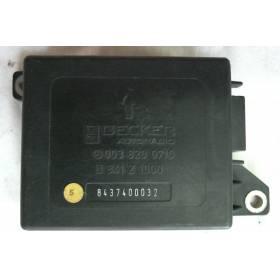 Appareil de commande radio de voiture MERCEDES-BENZ CLASSE S 126C ref 0038200710