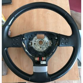 Black leather steering-wheel VW Golf 1K