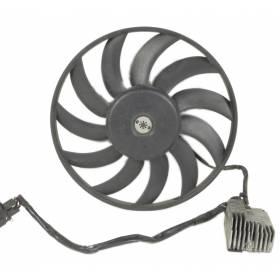Calculateur de ventilateur + moteur Audi A4 ref 501 / 501G / 501T / 501R / 501F / 501AG / 501H / 501AB / 501AD / 8E0959501AH