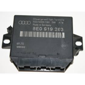 Calculateur d'aide au stationnement Audi A4 8E0919283A 601.796 +++