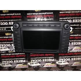 Autoradio CD GPS type Nexus Skoda Octavia II ref 1Z0035194 / 1Z0035194A + code