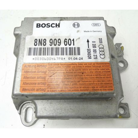 Calculateur d'airbag Audi TT ref 8N8909601 8N8909601TA Bosch 0285001279