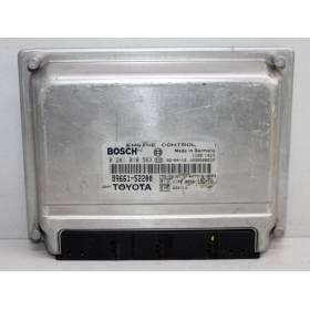 MOTOR UNIDAD DE CONTROL ECU TOYOTA Yaris 1.4 D4D 89661-52200 Bosch 0281010563