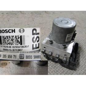 Bloc abs ALFA ROMEO 147 ref 51792630 Bosch 0265950711 0265235357