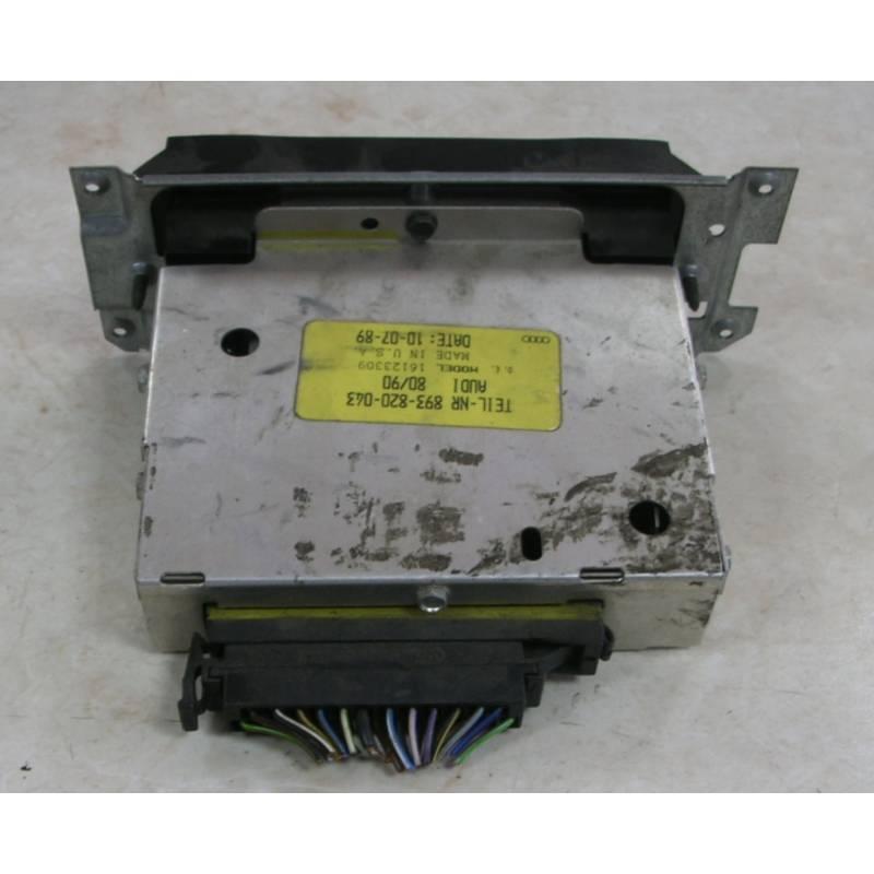 Unit Ac Climatronic Fresh Air Heater Controls Audi 80 90 Coupé 200