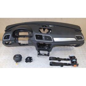 Planche de bord complète avec airbag sac gonflable ceinture pretentionneur Audi Q3 8U1857001 24A 8U1857001B 24A