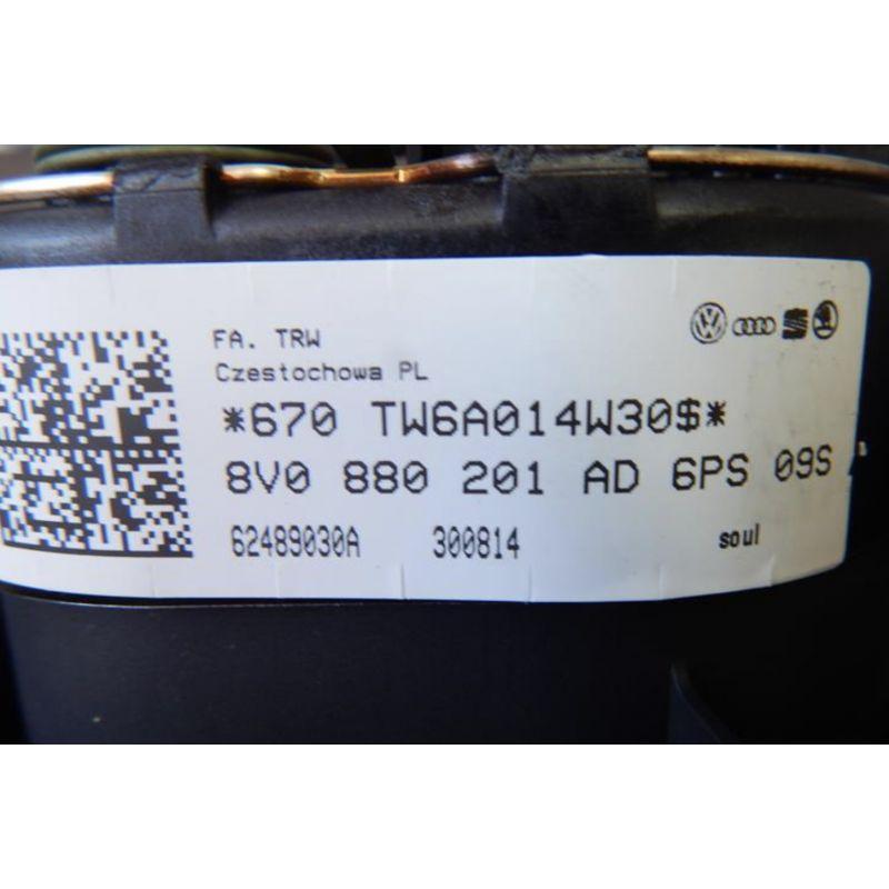 Dashboard Airbag Audi Q3 8u1857001 24a 8u1857001b 24a