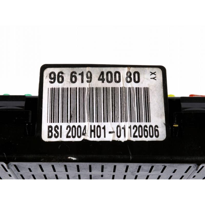Fuse box module bsi peugeot 307 1 4 1 6 2 0 16v hdi, sale auto spare