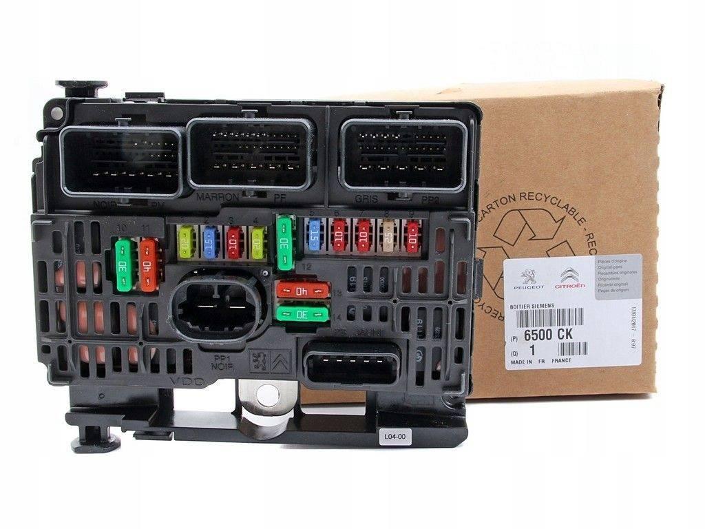 fuse box module bsm peugeot 607 2.0 2.2 2.7 16v hdi, sale auto spare part  on pieces-okaz.com  pieces-okaz.com
