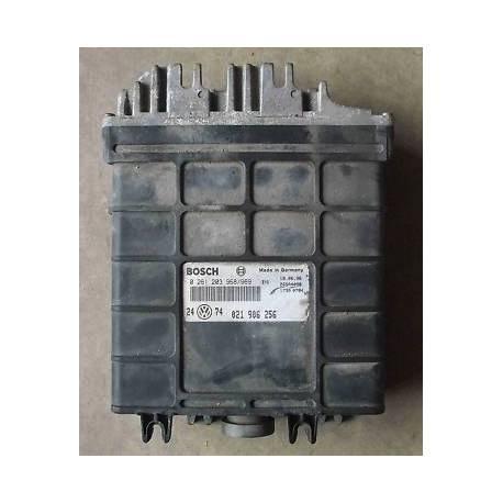 Calculateur injection pour VW Golf 3 VR6 ref 021906256