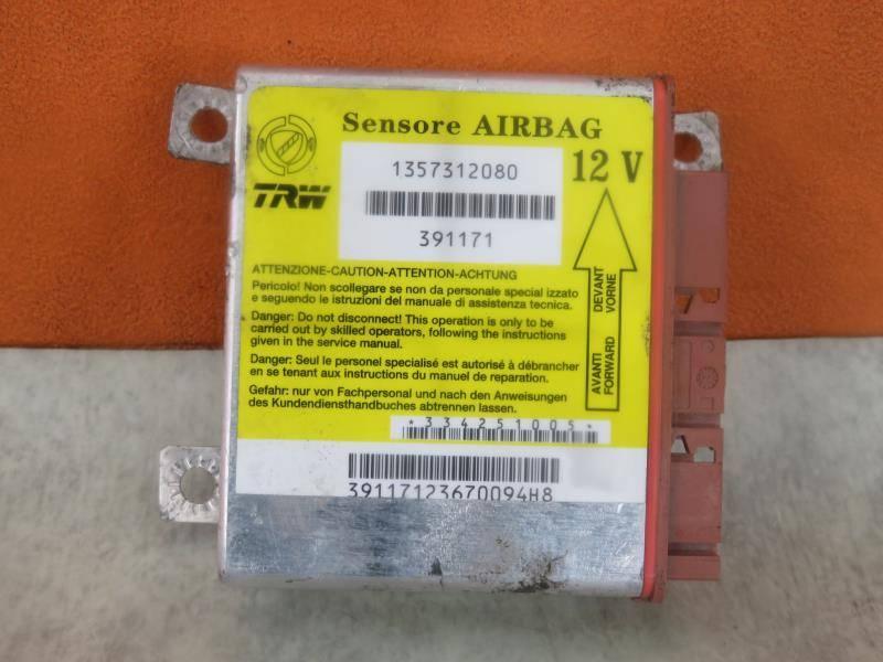 Moduł Sensor Airbag Air Bag Fiat Ducato Iii 100 Multijet 22