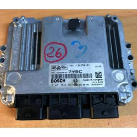 Engine control / unit ecu motor Ford Focus / Mazda 3 1.6 TDCi 7M61-12A650-BC BOSCH 0281015963