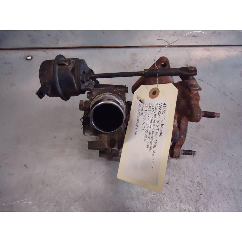 turbo pour 1l9 tdi 90cv moteur type agr