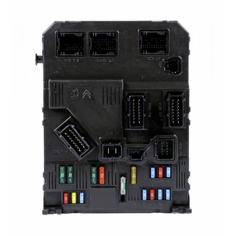 Fuse box module bsi citroen c2 1.1 1.4 1.6 16v hdi, sale ... Fuse Box In Citroen C on