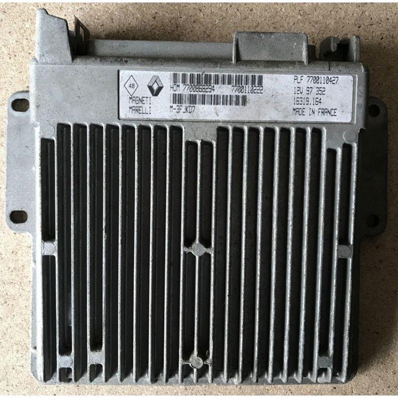 Renault Clio V6 Engine: ENGINE CONTROL UNIT ECU RENAULT CLIO 1.2 7700868294