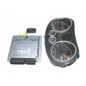 KIT COMPLET CALCULATEUR MOTEUR AUDI A2 036906013f 0261s01009