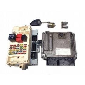 KIT COMPLET CALCULATEUR MOTEUR ALFA ROMEO 147 55188111 0281010455
