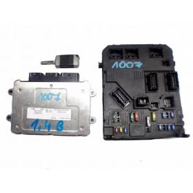 KIT COMPLET CALCULATEUR MOTEUR 9660727380 9655883280 21585639-4 A0