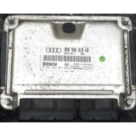 Calculateur moteur Audi TT ref 8N0906018AB / 8N0997108DX réf Bosch 0261207027