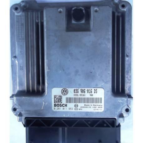 Calculateur injection moteur ref 03G906016DS