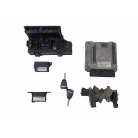 ECU Engine Complete Start Kit 0281013693 Dodge Caliber 2,0 CRD
