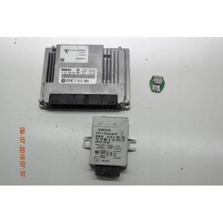 Ecu engine complete start kit bmw e46 n42 7513965 bosch 0261209007, sale  auto spare part on pieces-okaz com