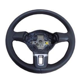 Volant cuir noir VOLANT VW CADDY GOLF TIGUAN GOLF PLUS ref 5K0419091J