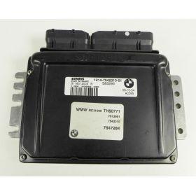 Calculateur Mini Cooper 1214-7542310-01 Siemens S118012003B
