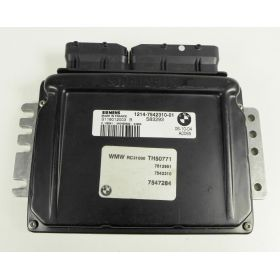 Engine control / unit ecu motor Mini Cooper 1214-7542310-01 Siemens S118012003B