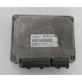 Calculateur moteur Audi A3 1L6 SR / véhicule avec boite auto ref 06A906019AM ref siemens 5WP4380 04