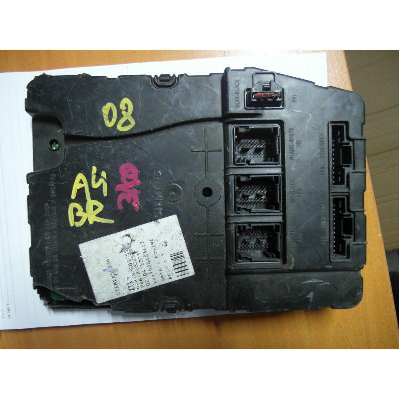 fuse box module bsi renault megane, 03078 8200305575