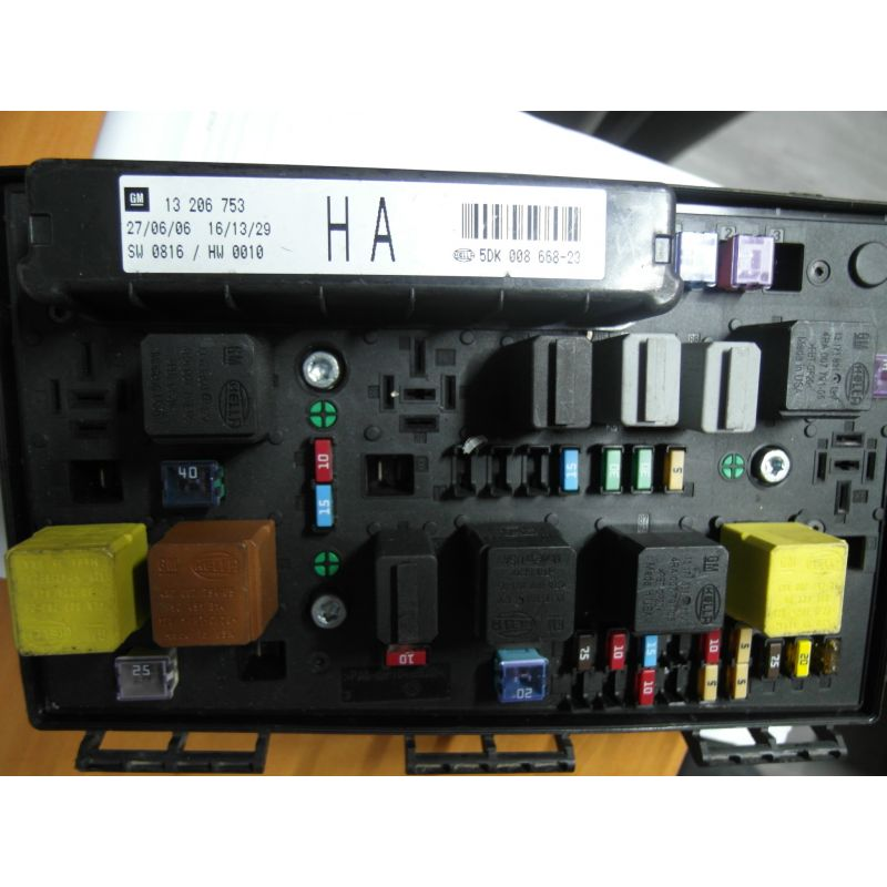 Fuse box module bsi opel astra h 13206753, sale auto spare ...  Astra Fuse Box on