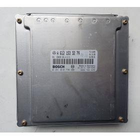 Calculateur moteur MERCEDES W163 ML 2.7 ref A6121533279 Bosch 0281010796