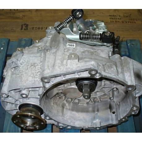 6-speed manual gearbox type JLW