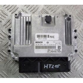 Engine control / unit ecu motor HYUNDAI TUCSON 2.0  CRDI 39114-27296 Bosch 0281014221