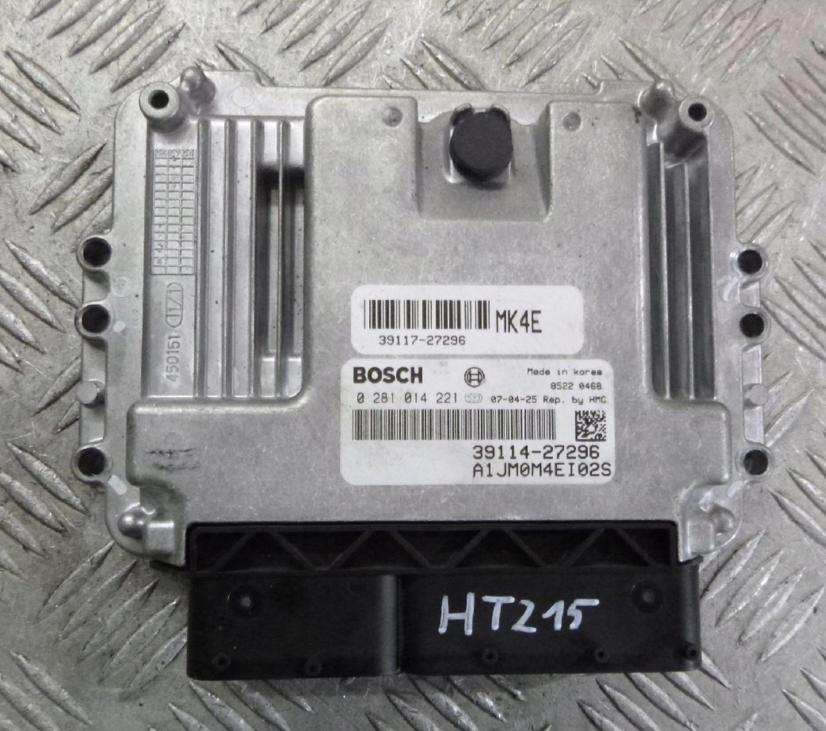 Engine control, unit ecu motor hyundai tucson 2 0 crdi 39114