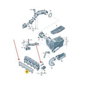 Joint métallique pour pompe à carburant et pompe à dépression / pompe tandem ref 038145215