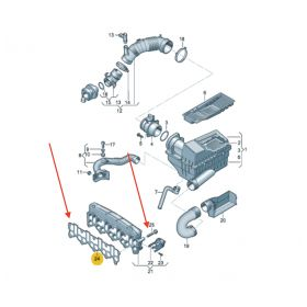 Kit Joint métallique pour pompe + visses