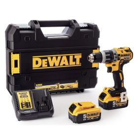 Perceuse Visseuse à Percussion DEWALT DCD796P2 18 V XR Brushless 2 x 5,0 Ah